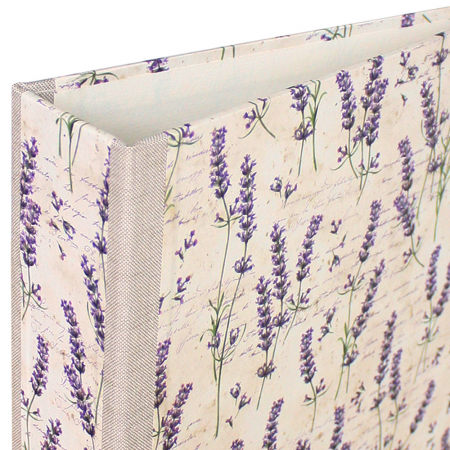Ordner / Ringbuch A4, Motiv: Lavendel